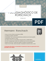Present Ac i ó n Rorschach