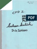 Dr. Ir. Sutrisno_Komputasi Dinamika Fluida_Bahan Kuliah_Teknik Mesin_Universitas Gajah Mada
