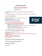 Procedure Dinscription Sur Le Site Etudes en France Universite Paris-saclay 1
