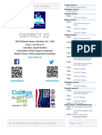 District 22 Newsletter January 2019