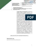 Res. Keiko Fujimori Sala Penal Apelaciones