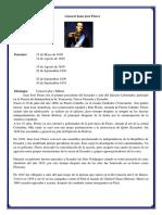 Biografía Presidentes Ecuador