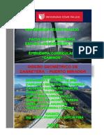 Informe Diseño Carretera