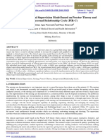 Developing the Clinical Supervision Model based on Proctor Theory and Interpersonal Relationship Cycle (PIR-C)