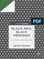 Jared Sexton - Black Men, Black Feminism_ Lucifer's Nocturne (2018, Palgrave Pivot)