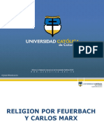 Religion Por Feuerbach y Carlos Marx