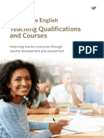 Teaching Qualifications Brochure