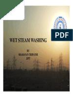 Wet Steam Washing System