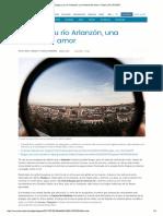 Burgos y su río Arlanzón, una historia de amor (Ocholeguas, 06-07-17)