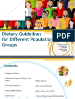 Dietetic Guidelines Short Version