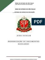 Manual Padronização de Vida Escolar 2017