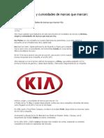 Historia de Kia