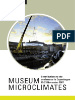 MUSEUM MICROCLIMATES  Trends in microclimate control of museum display cases