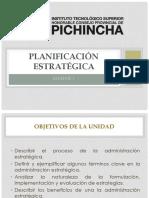 Unidad i - Introducción Planificación Estratégica
