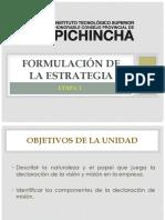 Unidad Ii_formulacion de La Estrategia_direccionamiento Estratégico