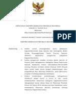 PMK No. 47 Th 2018 Ttg Pelayanan Kegawatdaruratan