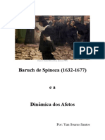 [Plano Do Curso] Baruch de Spinoza (1632-1677)