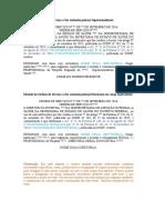 Modelo de OS - Designação Para Supervisionar o Voluntariado Da Unidade