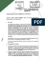 Pedido de Nulidad de Creación de nuevas bancadas en el Congreso (Carlos Tubino)