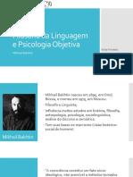 Filosofia Da Linguagem e Psicologia Objetiva