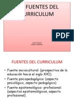 Las Fuentes Del Curriculumde