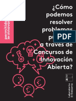 ¡cómo podemos resolver problemas publicos a través de innovación Abierta