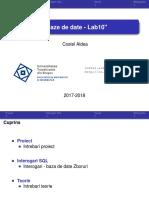 Baze de Date - Lab10