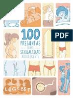 100 Preg de Sexualidad Adolescente.