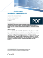 Air Transportation Safety Investigation Report