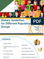 Dietetic Guidelines