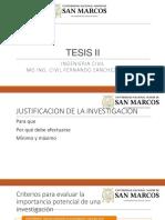 TESIS II 3 - Justificacion de La Investigacion