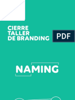 Cierre Taller Branding