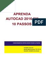 Aprenda Autocad 2016 Em 10 Cndo