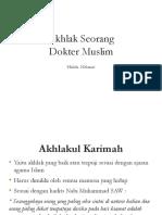 Akhlak Seorang Dokter Muslim.pptx