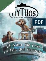 Comic Mythos - El Altar de oro y la Isla del Encanto