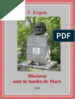 Engels - Discurso Ante La Tumba de Marx