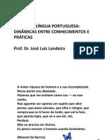 A AULA DE LÍNGUA PORTUGUESA