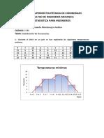 Distribucion de Frecuencia, Excel Minitab