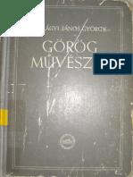 Szilágyi János György - Görög Művészet