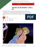 Rosa Nem Sempre Foi 'Cor de Menina' - Nem o Azul, 'de Menino' _ Mundo _ G1