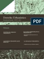 Derecho Urbanístico Las Fuentes