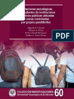 Afectaciones psicológicas en estudiantes de instituciones educativas públicas ubicadas en zonas controladas por grupos pandilleriles