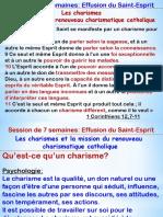 6-Les Charismes Et La Mission Du Renouveau Charismatique