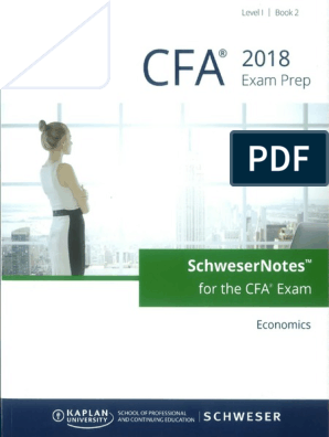 Cfa 2018 Economics book2
