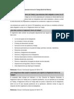 Reglamento Interno - Portal Del Mintra
