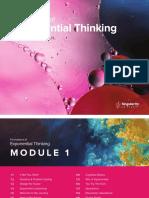 SU (2018) Exponential Thinking