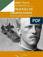 La Travesía de Groenlandia, Nansen.