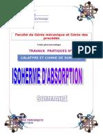Copie de Hicham Isotherme d'Adsorption