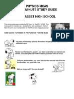 CHS Study Guide