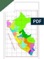 Mapa Del Peru Con Sus Departamentos